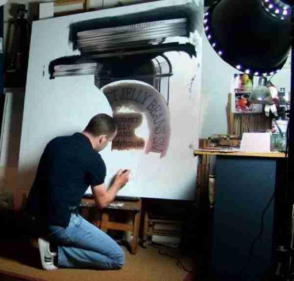 Οι ρεαλιστικές ελαιογραφίες του Pedro Campos