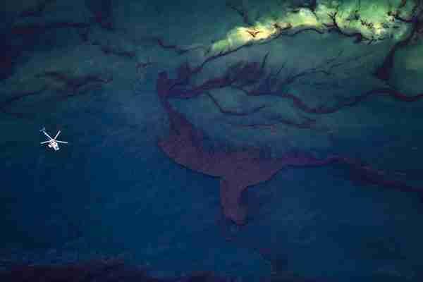 Τραγική ομορφιά: η καταστροφή στον Κόλπο του Μεξικού από ψηλά