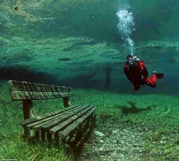 Το πάρκο που τα καλοκαίρια μετατρέπεται σε λίμνη
