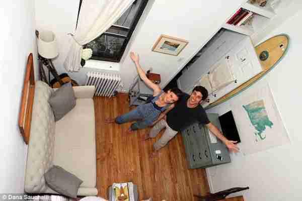Σπίτι 22 τετραγωνικών με ενοίκιο 1500 δολάρια