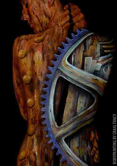 Body Painting από τον Craig Tracy