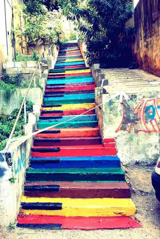 Δημόσιες σκάλες μετατρέπονται σε έργα τέχνης