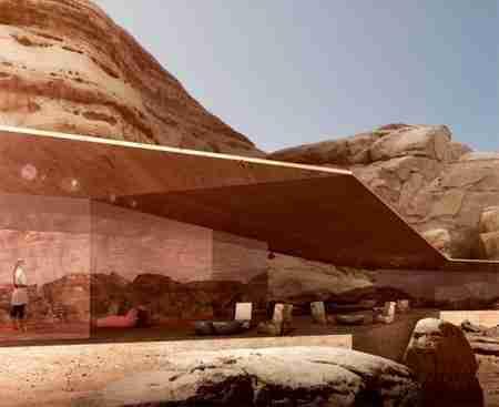 Wadi Rum luxury resort, ξενοδοχείο στη μέση της ερήμου