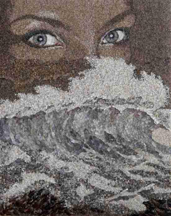 Ψηφιδωτά από άμμο και κοχύλια, της Svetlana Ivanchenko