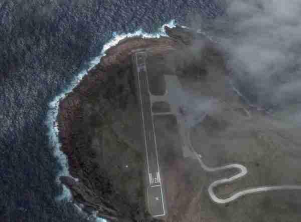 Αεροδρόμιο νησιού Σάμπα, Ολλανδικές Αντίλλες