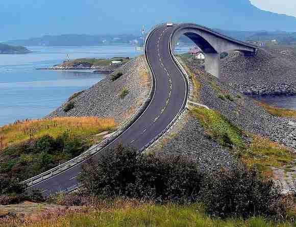 Δρόμος του Ατλαντικού, Νορβηγία