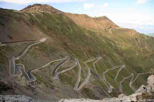 Stelvio Pass, Ιταλικές Άλπεις