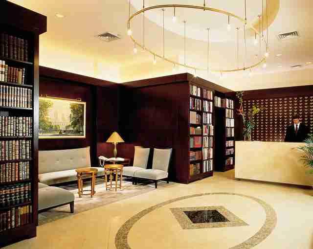 Το ξενοδοχείο Βιβλιοθήκη στο Μανχάταν