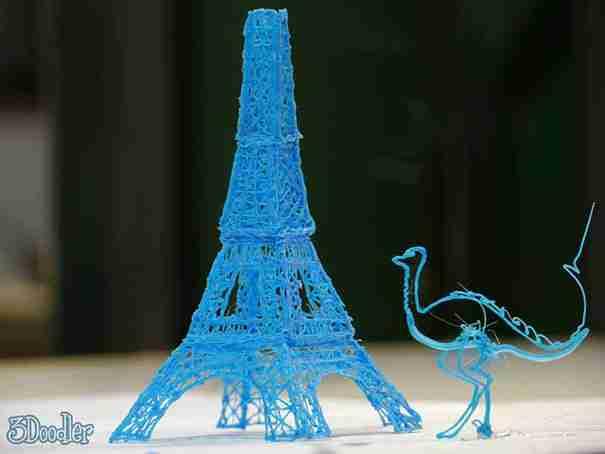 3Doodler, το πρώτο στυλό τρισδιάστατης εκτύπωσης