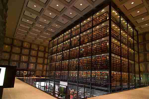 Beinecke Rare Book and Manuscript Library.