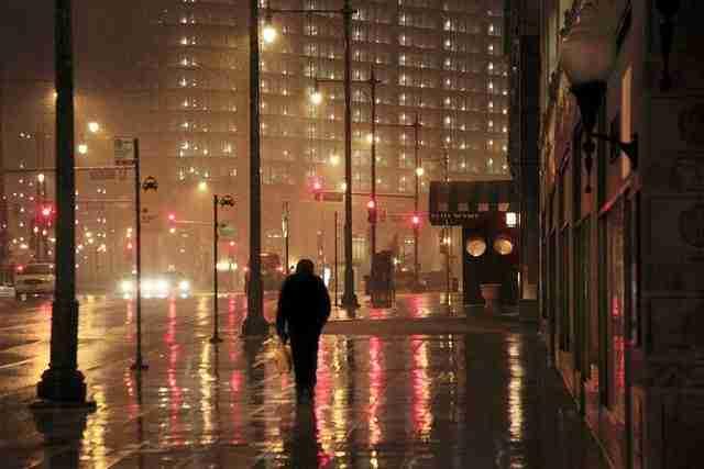 Φωτογραφίζοντας τη βροχή