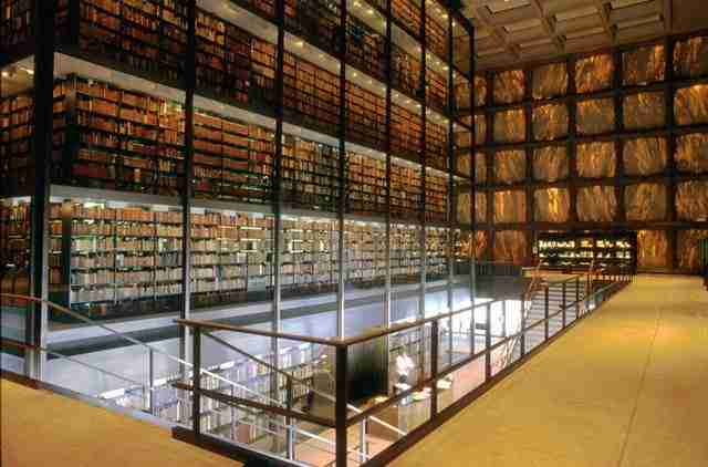 Yale, Beinecke Rare Book and Manuscript Library2