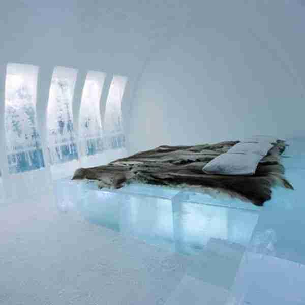 Ξενοδοχείο από πάγο στη Ρουμανία