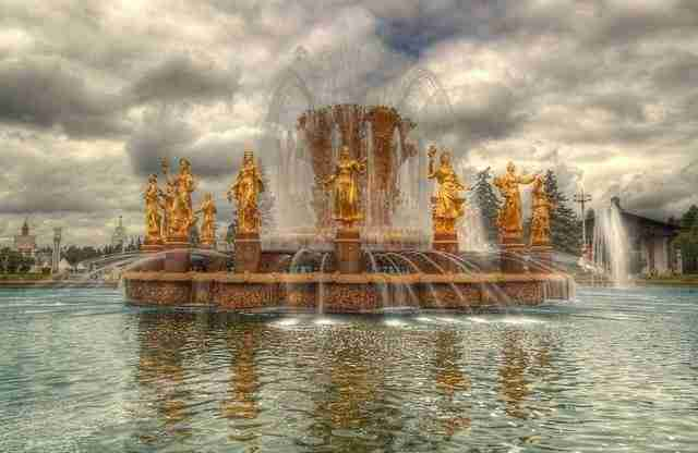 People's Friendship Fountain – Moscow, Russia