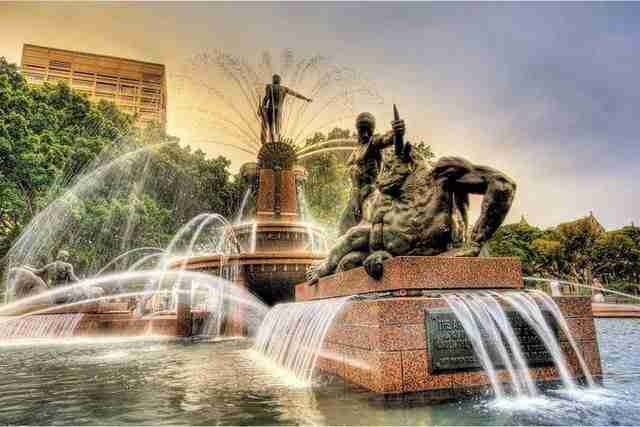 The Archibald Fountain – Sydney, Australia