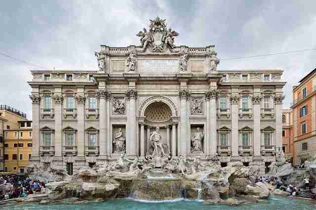 Trevi Fountain – Rome, Italy2