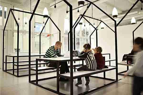 Vittra Telefonplan, ένα σχολείο χωρίς τοίχους!