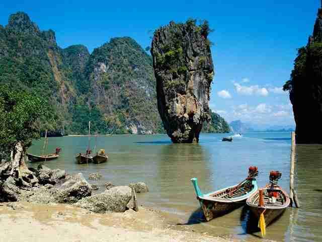 Phang Nga Bay, τα νησιά του Τζέιμς Μπόντ