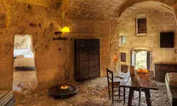 Le Grotte della Civita, ένα ξενοδοχείο μέσα σε σπηλιά