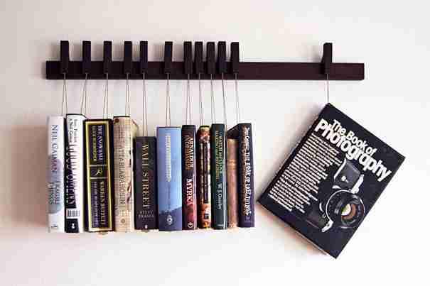 Book Rack in Wenge