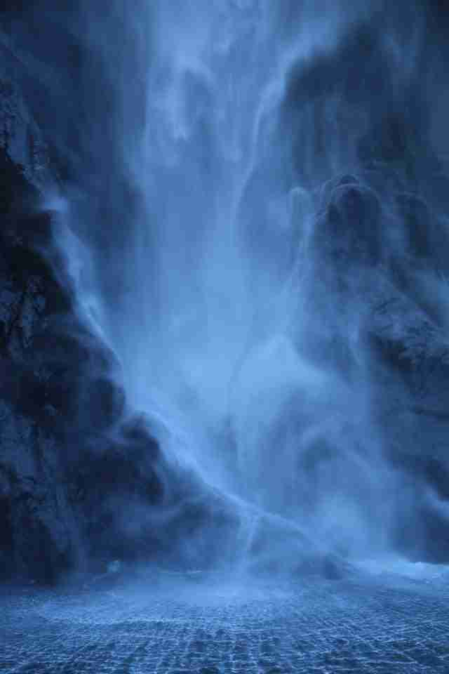 Ghostly Waterfall