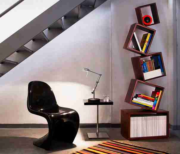 Malagana Equilibrium Bookcase 2