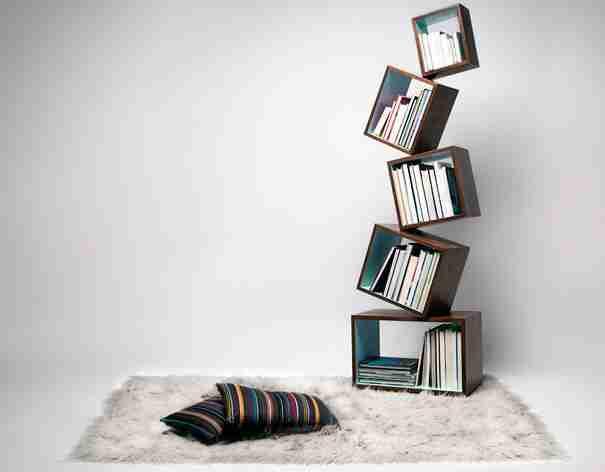 Malagana Equilibrium Bookcase
