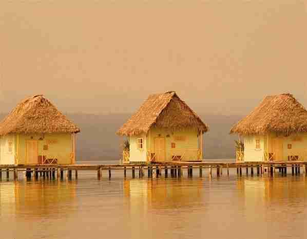 Το πλωτό ξενοδοχείο Punta Caracol, Παναμάς