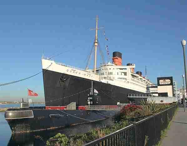 Ξενοδοχείο Queen Mary Hotel, Long Beach, Καλιφόρνια