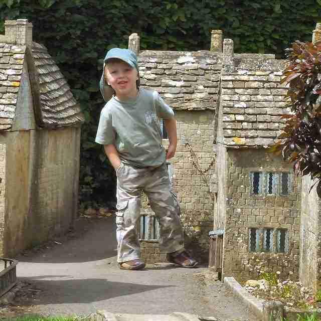 Bourton on the Water, ένα χωριό σε μικρογραφία