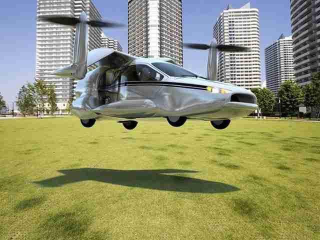 TF-X , το πρώτο ιπτάμενο αυτοκίνητο από την Terrafugia
