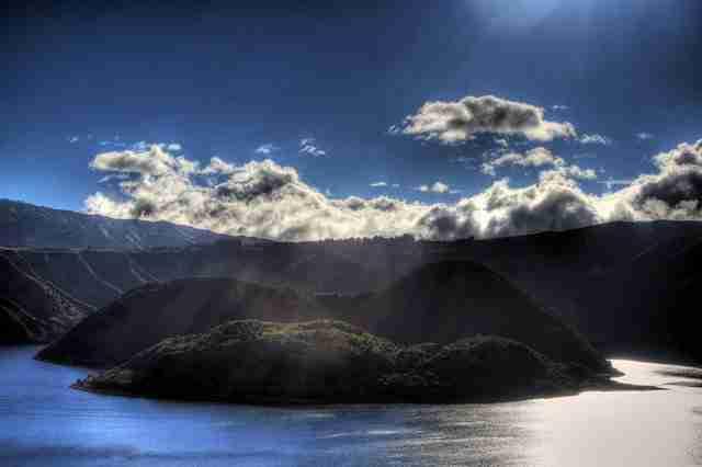 Laguna-Cuicocha-in-Ecuador
