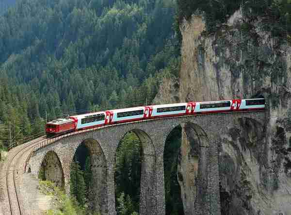 Albula-Bernina Railway Line, Switzerland3