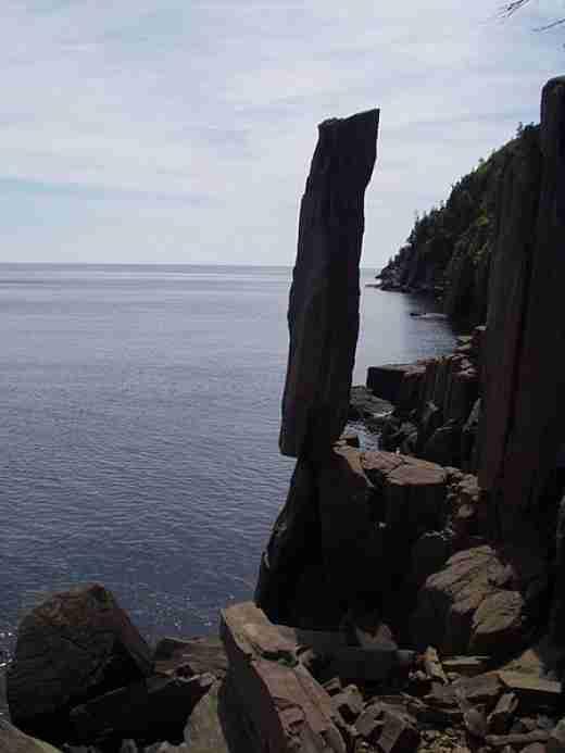 Balancing Rock, Canada