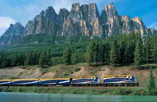 Rocky Mountaineer, Canada2