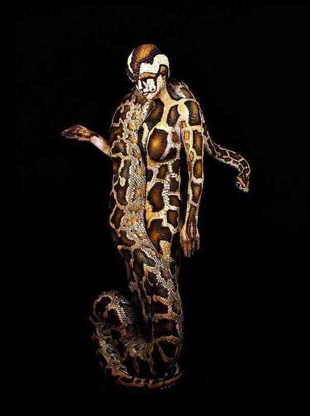 Ψευδαισθήσεις από ζωγραφισμένα ανθρώπινα σώματα