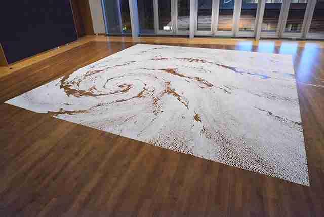 Ο νέος λαβύρινθος από αλάτι του Motoi Yamamoto