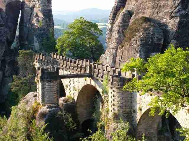 Bastei: βράχοι και γέφυρα εκπληκτικής ομορφιάς!
