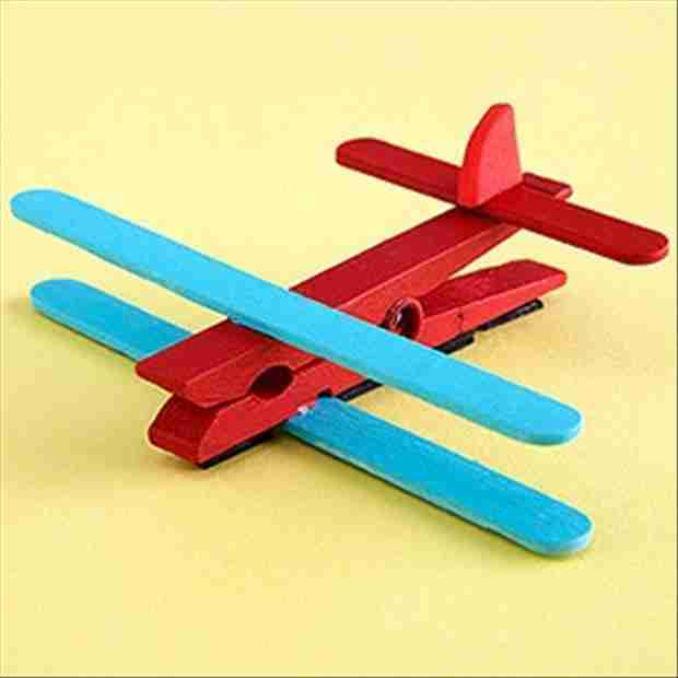 make-a-toy-airplane-from-popcycle-sticks-and-a-clothes-pin