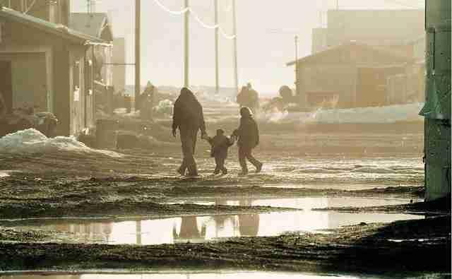 Κιβαλίνα, το χωριό που σε λίγα χρόνια θα το καταπιεί ο ωκεανός