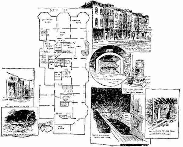 13 σπίτια με κρυφά δωμάτια και μυστικά περάσματα