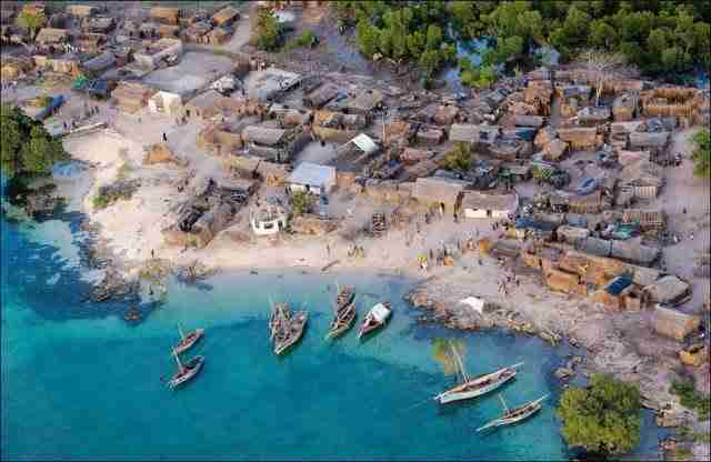 Beautiful African Village