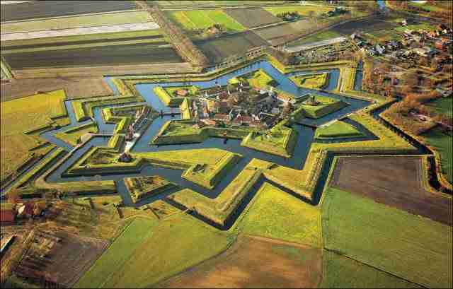 Fort Bourtange, Groningen, Netherlands