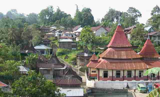 Pariangan in western Sumatra
