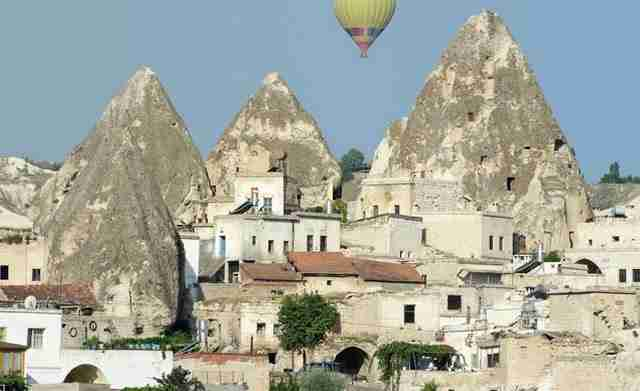 Turkish village of Göreme