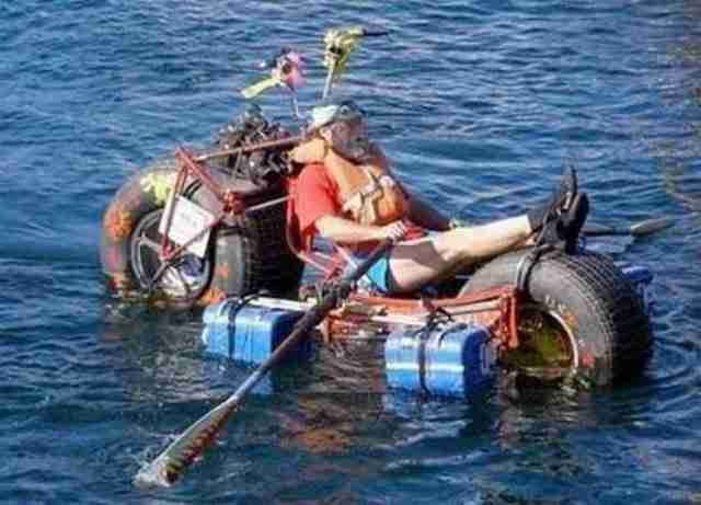Βάρκα μοτοσυκλέτα
