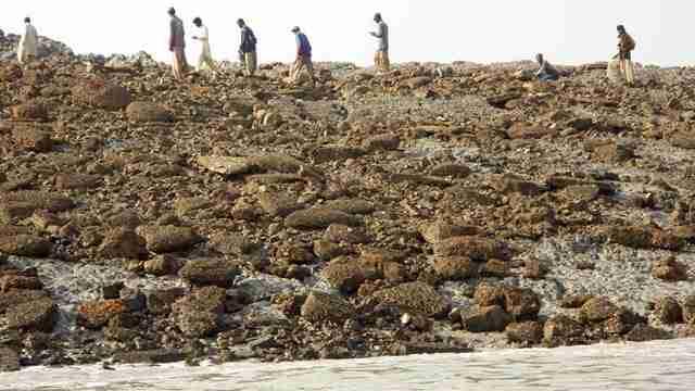 Το μυστηριώδες νησί που εμφανίστηκε στο Πακιστάν