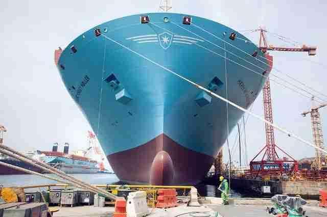 Ετοιμάζεται το μεγαλύτερο πλοίο στον κόσμο