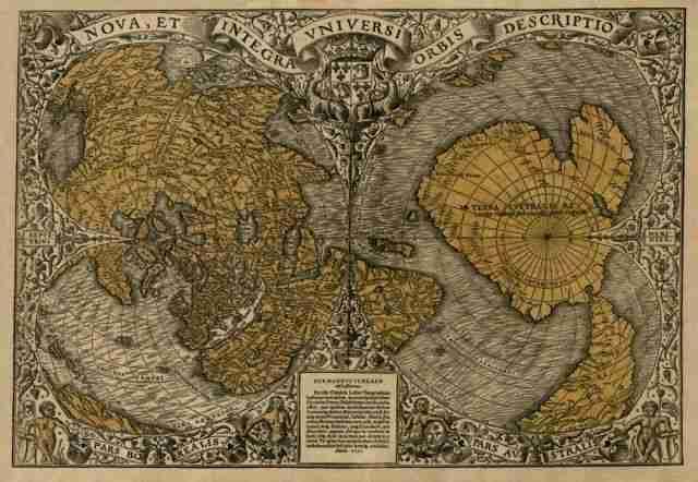 30 ασυνήθιστοι παγκόσμιοι χάρτες