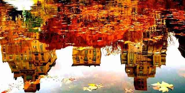 Κιότο, ιαπωνία: βροχή, ομπρέλα και
